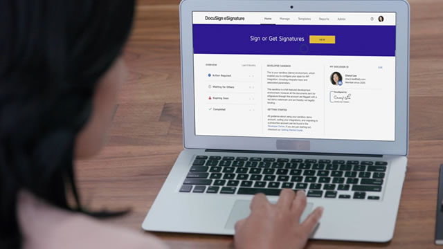 Buy the Dip with Docusign