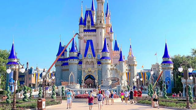 Disney reports its financial results for the fourth quarter, shares up