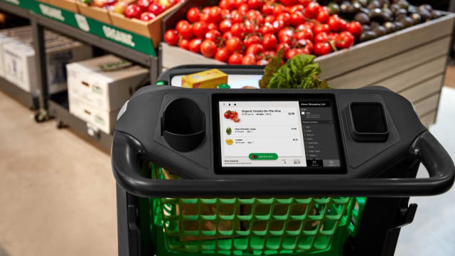 Amazon launching smart grocery carts (+ video)