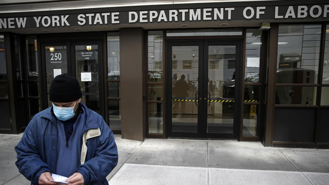 The U.S. Department of Labor says unemployment rate slid to 8.4% in August