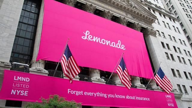Lemonade Inc. is expected to print $1.29 of loss per share in the fiscal second quarter